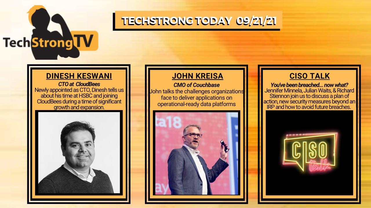 TechStrong TV – September 21, 2021
