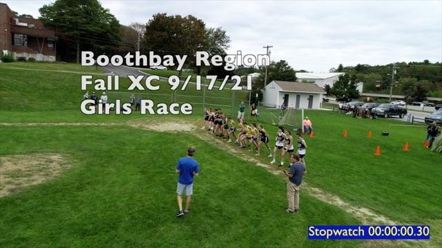 Boothbay Region Fall XC - Girls Race Sep 17