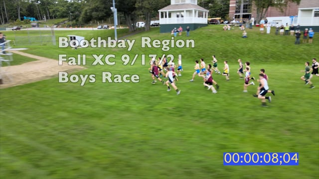 Boothbay Region XC Boys Race Sep 17