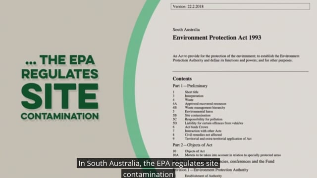 Groundwater contamination in SA