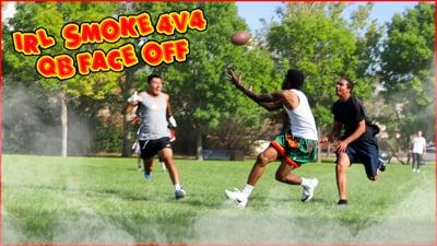 4v4 Mav Fam Football Game! (IRL Smoke #5)