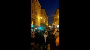 Le immagini del corteo di protesta contro il Green Pass a Trieste