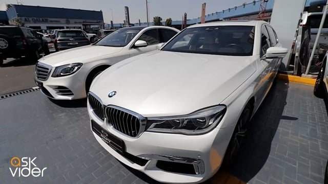 BMW 740Li - WHITE - 2016