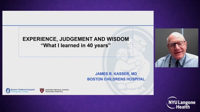 Lessons Learned in 40 Years of Treating Hip Dysplasia – International Hip Dysplasia Symposium