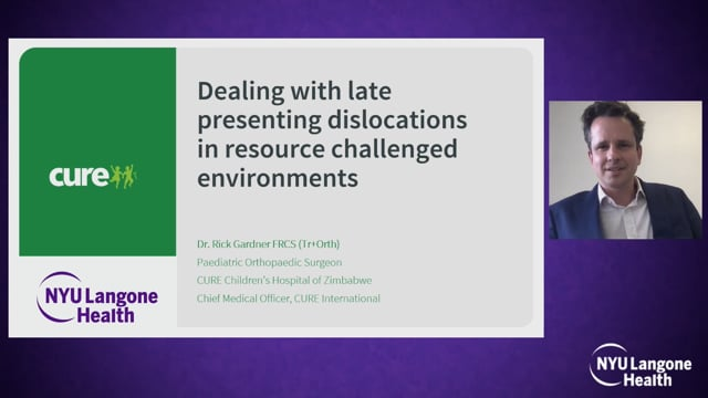 Late Detected Dislocations in Resource Challenged Environments – Hip Dysplasia Symposium