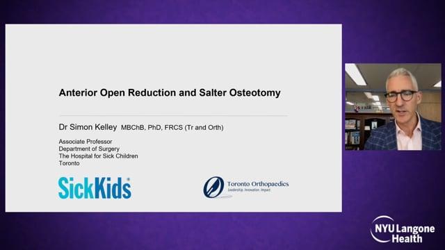 Anterior Open Reduction and Pelvic Osteotomy – International Hip Dysplasia Symposium