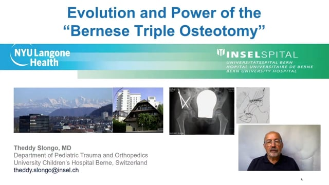 Evolution and Power of the Bernese Triple Osteotomy – International Hip Dysplasia Symposium