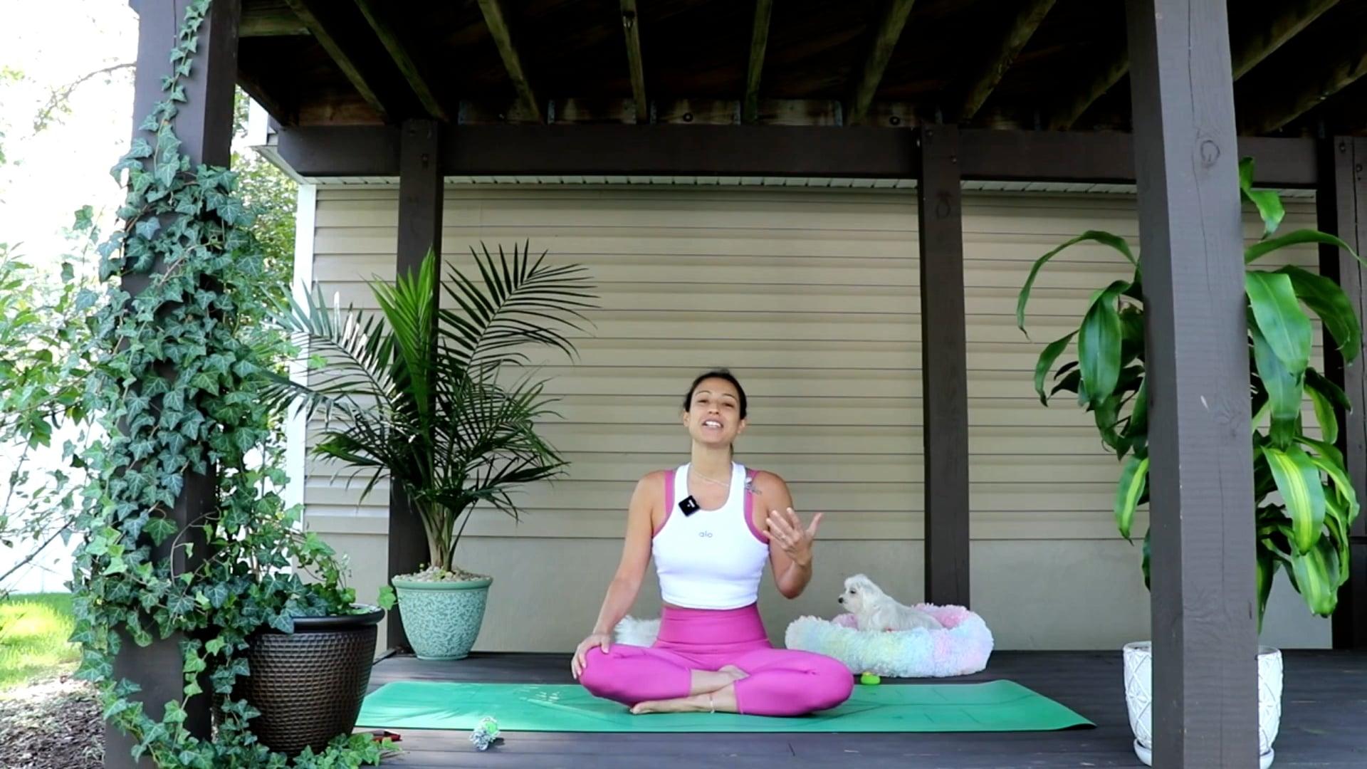 Power Vinyasa Yoga with Nina - OCTOBER
