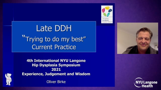 Current Best Practice for Late Detected Hip Dysplasia – International Hip Dysplasia Symposium