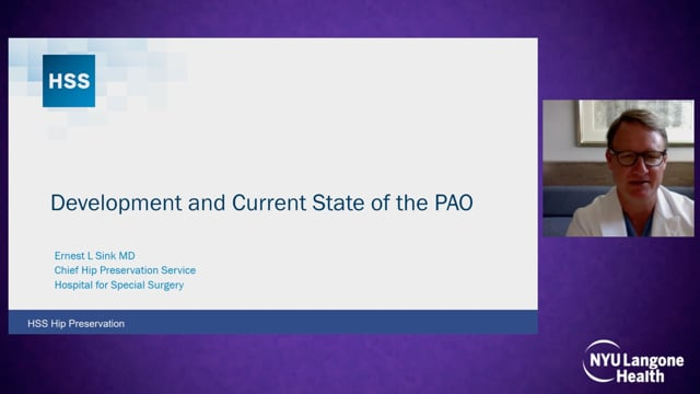 Development and Current State of the PAO – International Hip Dysplasia Symposium