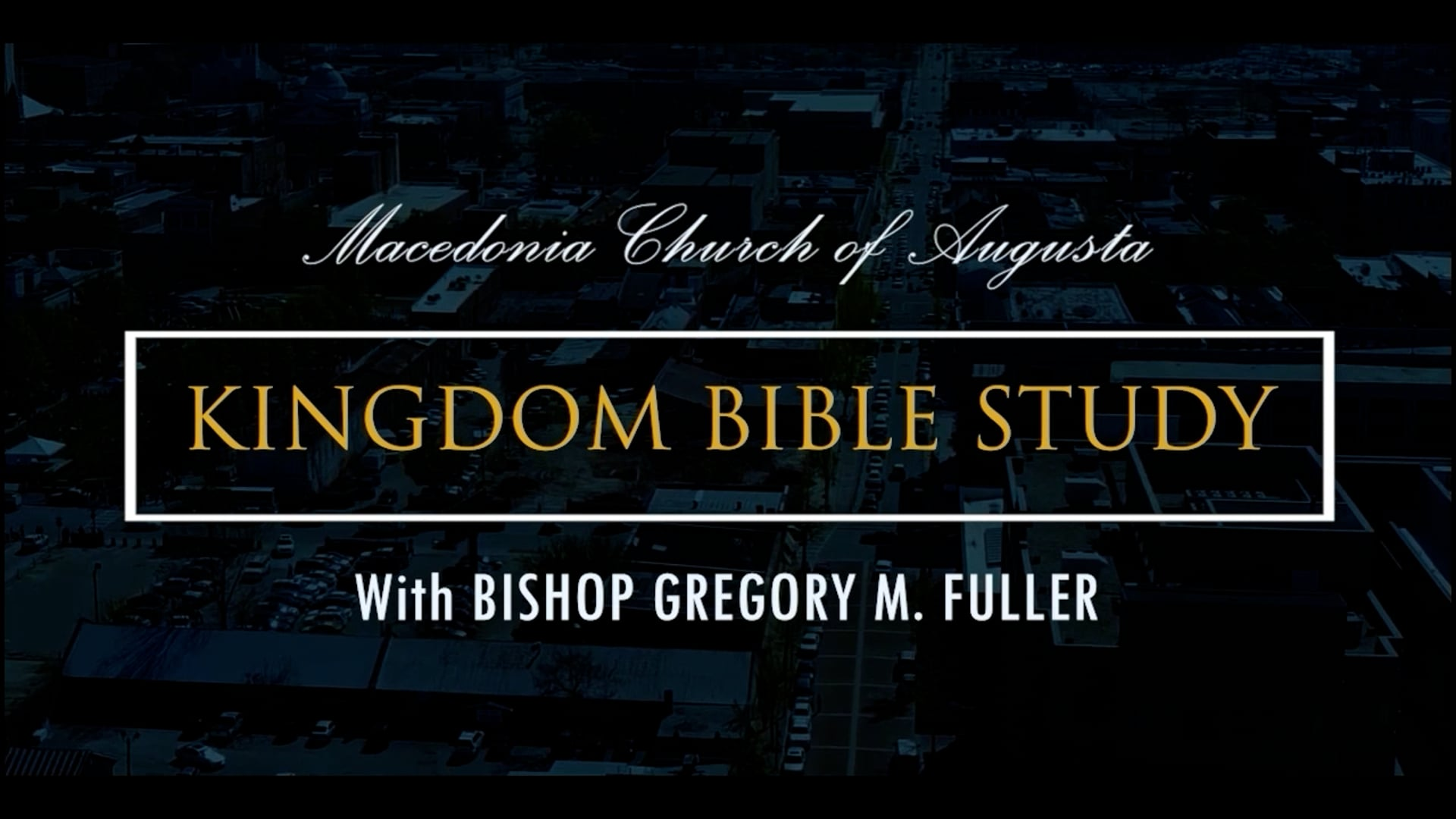 Bible Study 09/22   How To Build Your Faith