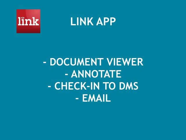 LINK: Viewer, Annotate, Check-in, Send 5:39