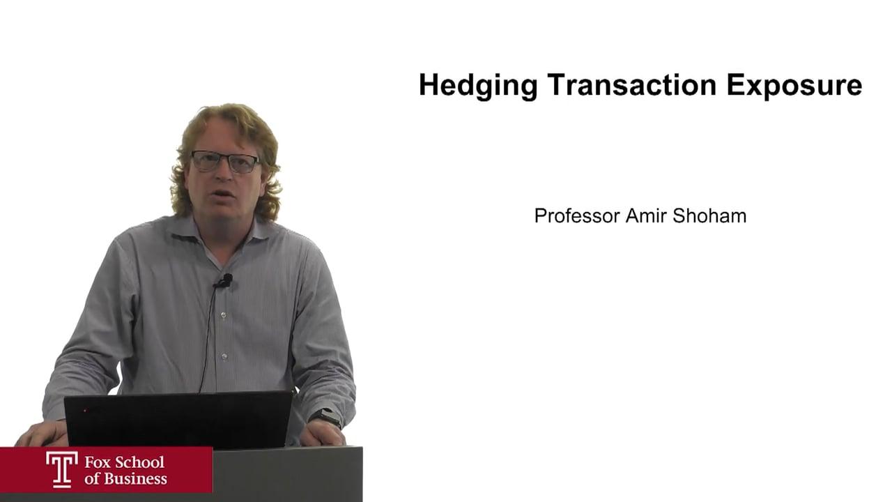 62205Hedging Transaction Exposure