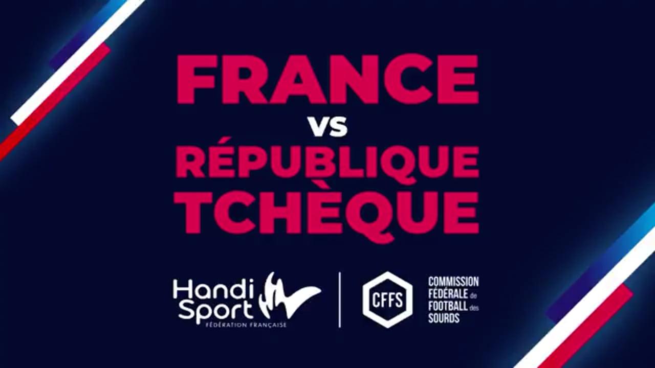 Foot Sourds  2ème mi-temps France vs République Tchèque