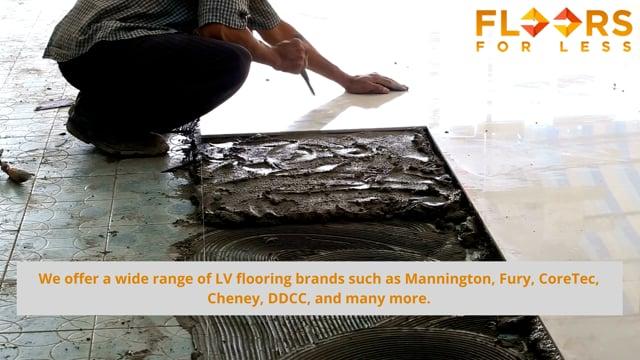 Approach Floors for Less for Vinyl Tile Stores Near Me!