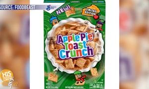 Apple Pie Cinnamon Toast Crunch!