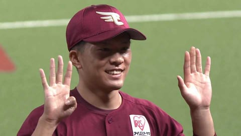 イーグルス・早川隆久投手ヒーローインタビュー 2021年9月22日 埼玉西武ライオンズ 対 東北楽天ゴールデンイーグルス