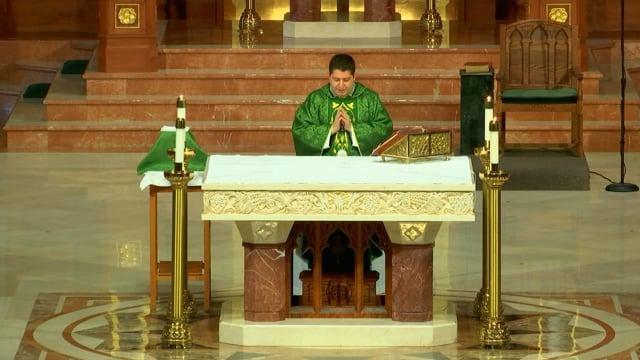 Mass from St. Agnes Cathedral - September 22, 2021