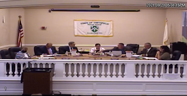 2021-09-21 Town Council Meeting