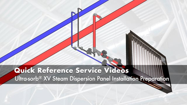Ultra-sorb® XV Steam Dispersion Panel Installation Preparation