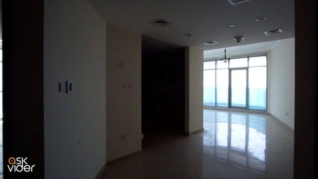 شقة غرفتين وصالة  مساحة 2660 قدم