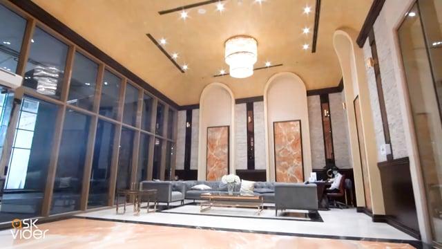 شقة غرفتين وصالة  مساحة 1900 قدم