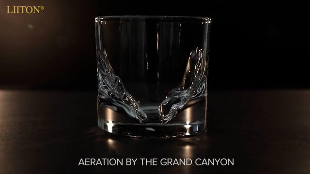 Grand Canyon Whiskey Glass // Set of 4 video thumbnail