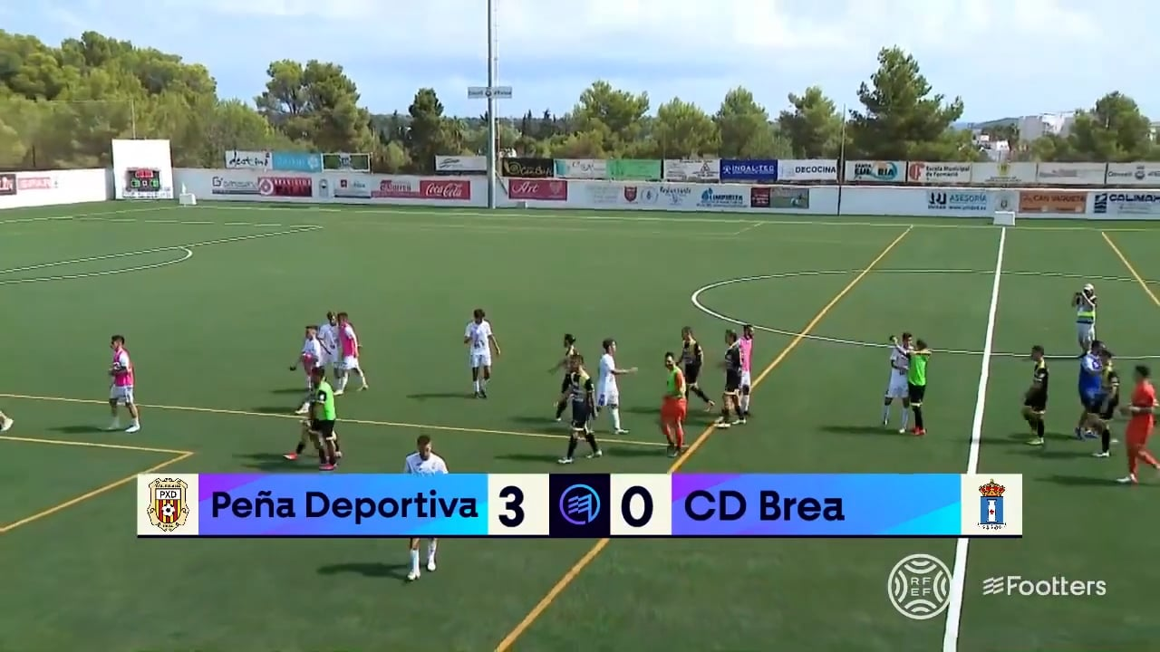 (RESUMEN y GOLES) Peña Deportiva 3-0 CD Brea / J 3 / 2ª RFEF - Grupo 3 / Fuente YouTube CD Brea