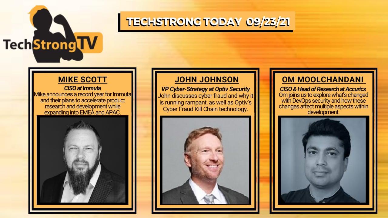 TechStrong TV – September 23, 2021