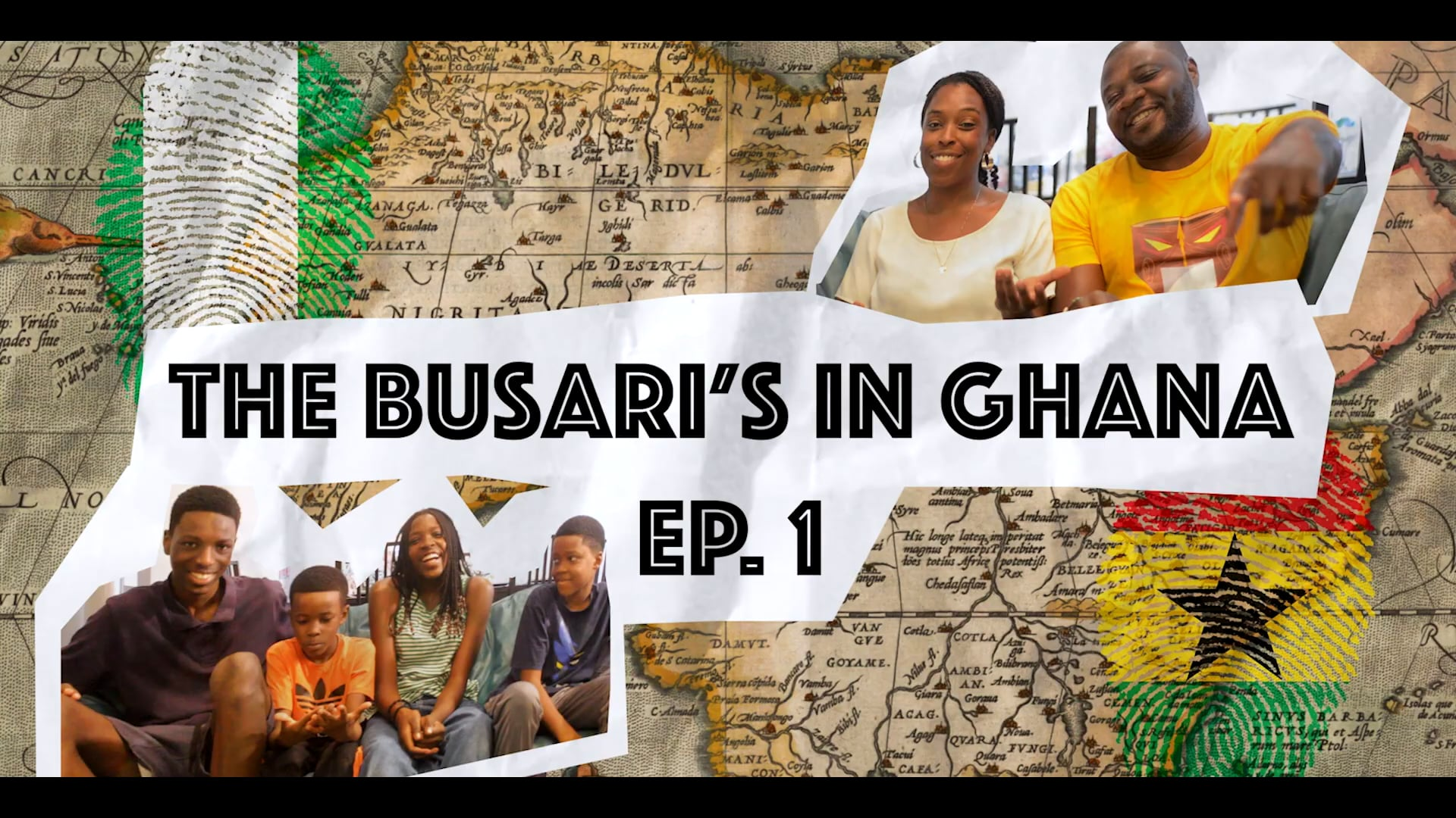 THE BUSARI'S IN GHANA - YES, WE ARE M...