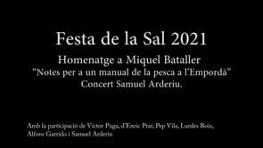 Conferència:  Festa de la Sal 2021