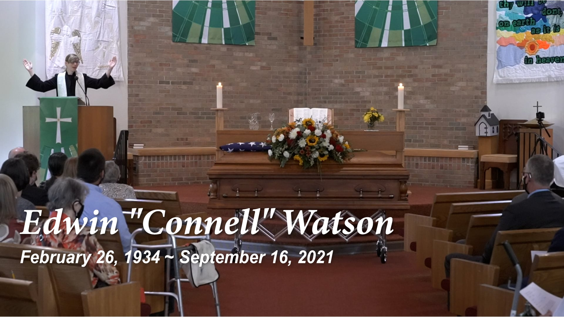 Funeral Service for Edwin (Connell) Watson
