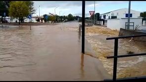 Gravi inondazioni nella provincia di Huelva, in Spagna