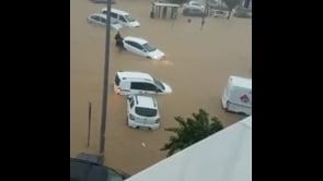 Piogge torrenziali in Spagna, località sommerse nella provincia di Huelva