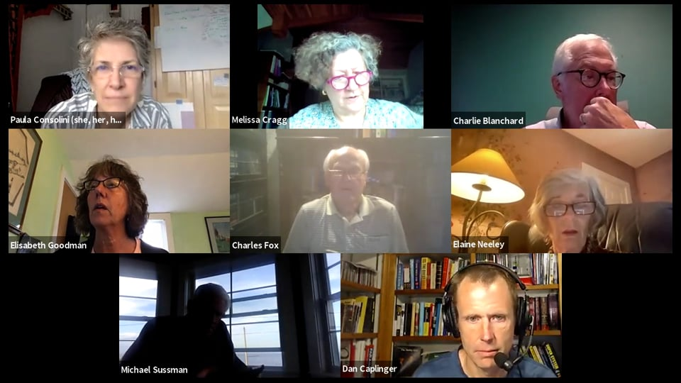 Finance Committee virtual Meeting – 9.22.21