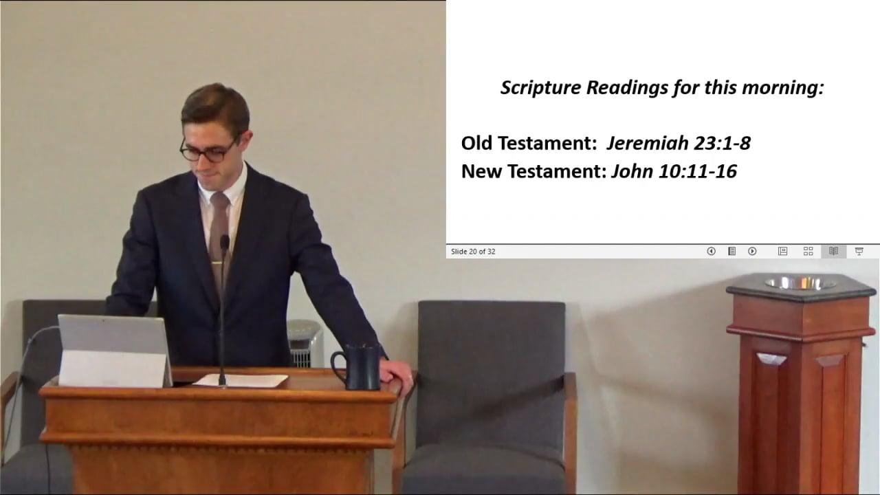 210912 Am Shepherd The Flock Of God Part 2, The Good Shepherd-1.m4v