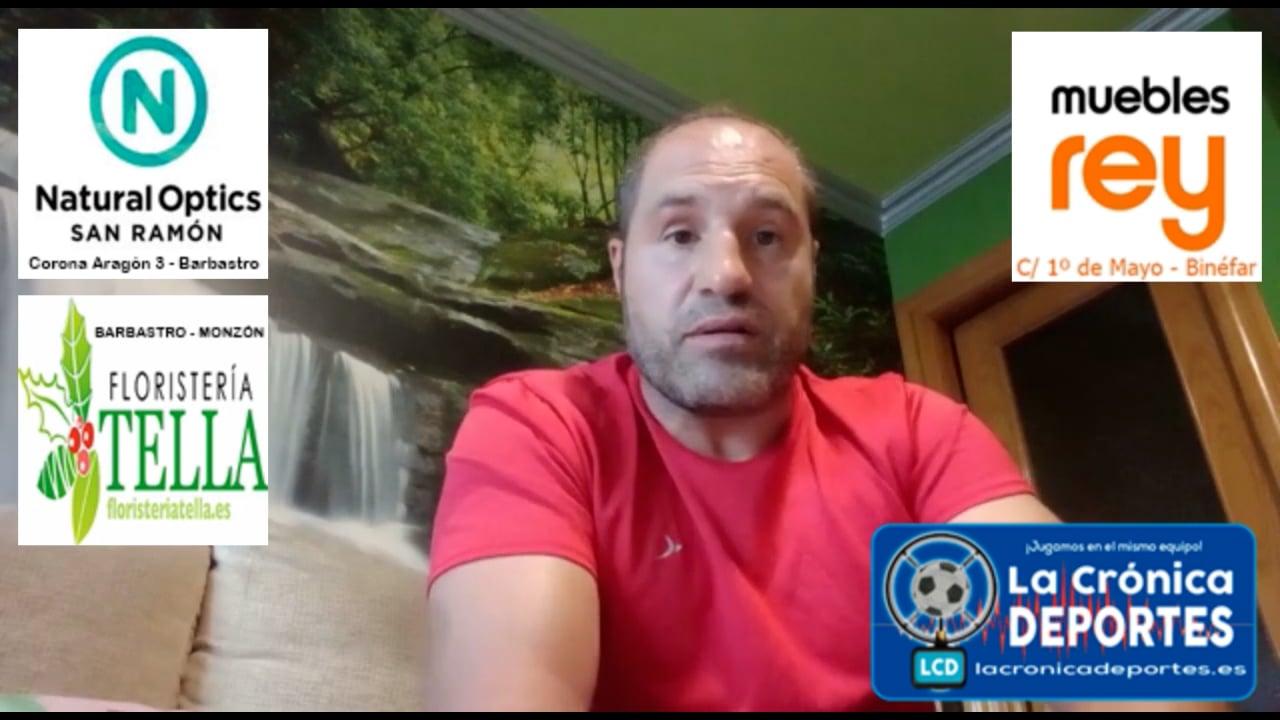 CHELU FLORENCIA (Entrenador Ontiñena) Peñas Sariñena 2-2 Ontiñena / J2 / 1ª Regional Gr2