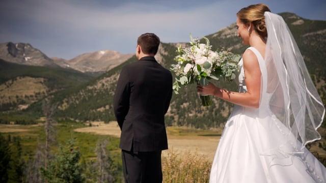 Christina + Blake Wedding Highlights - Della Terra Chateau - Rocky Mountain NP Boutique Lodge, Estes Park CO - Sept 2019