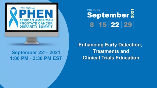 Enhancing Early Detection, Treatments and Clinical Trials Education