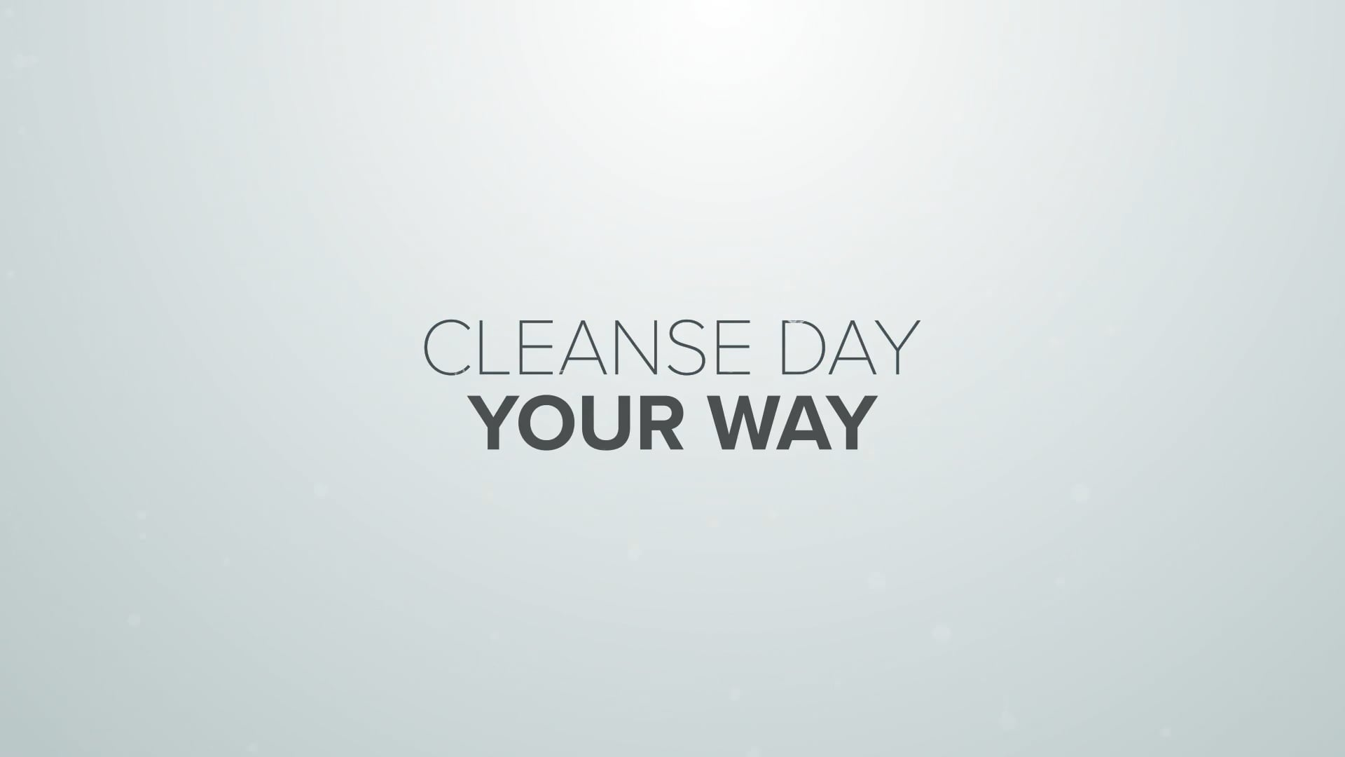 How to Do a Cleanse Day