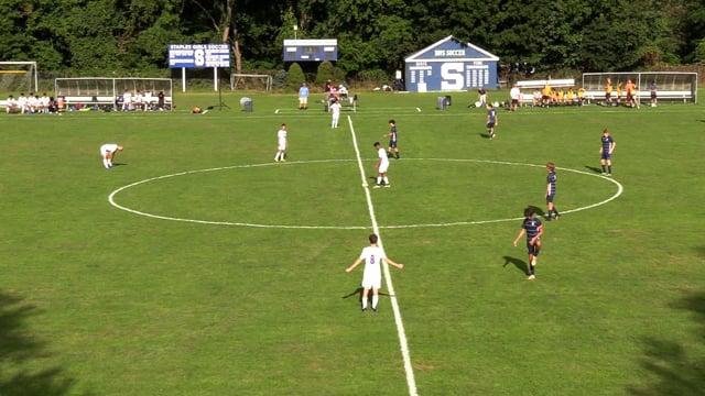 Staples Boys Soccer vs Danbury 9/22/21