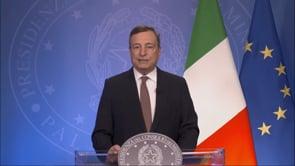 """Draghi all'ONU: """"i cambiamenti climatici causano 150mila morti all'anno"""""""