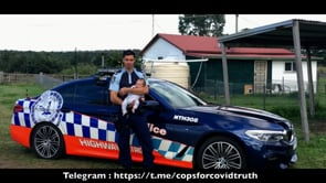 1- Message from Alexander Cooney to all Police Officers in Australia
