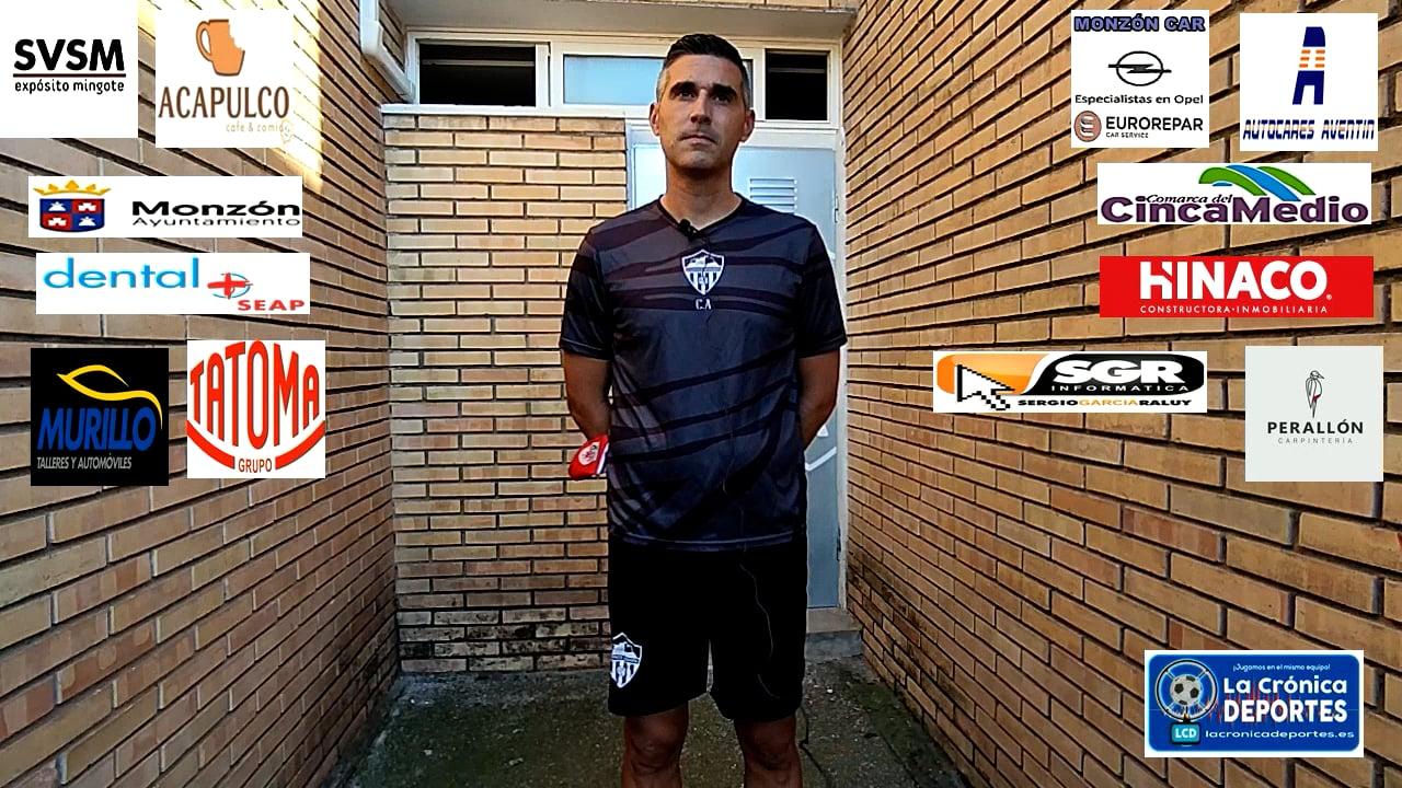 LA PREVIA / Santa Anastasia - At.Monzón / J 4 / Cristian Abad (Entrenador At Monzón) 3ª División