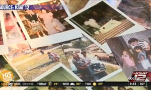 Woman Finds Family Photos at GOODWILL!