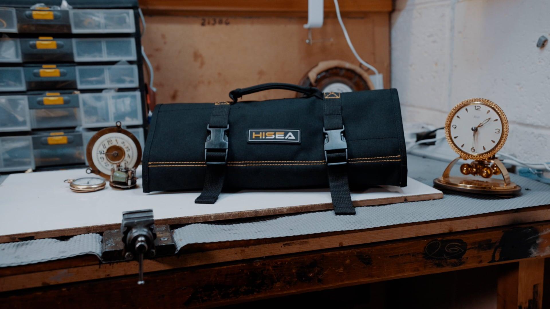 HiSea Tool Roll Bag - Product Video