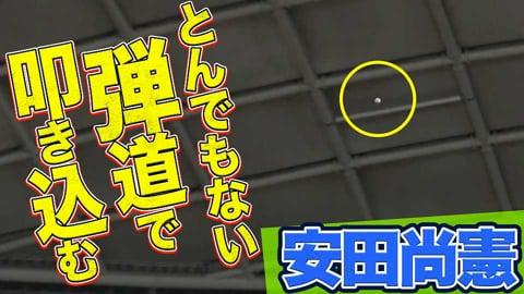 【驚愕】マリーンズ・安田尚憲『ありえない弾道』で叩き込んだ今季8号