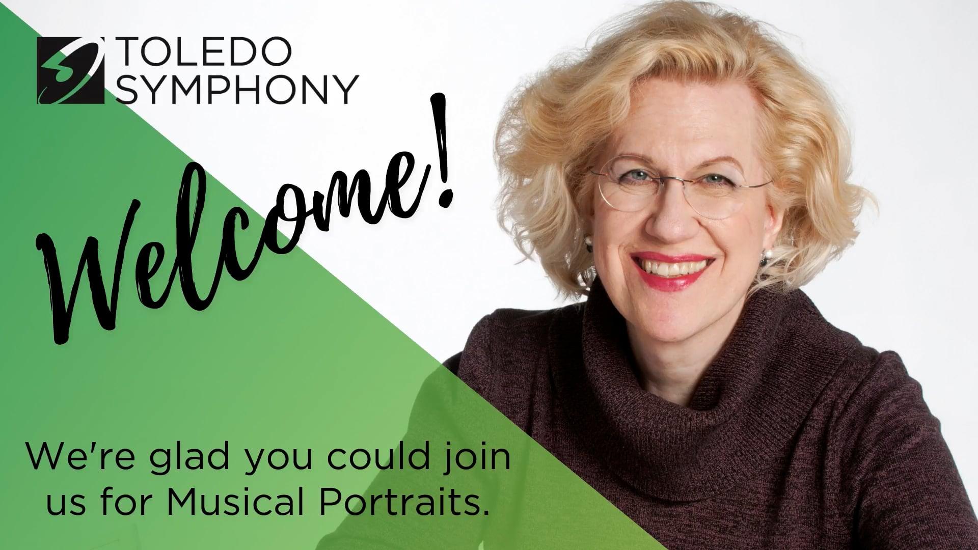 Musical Portraits Pre-Concert Talk