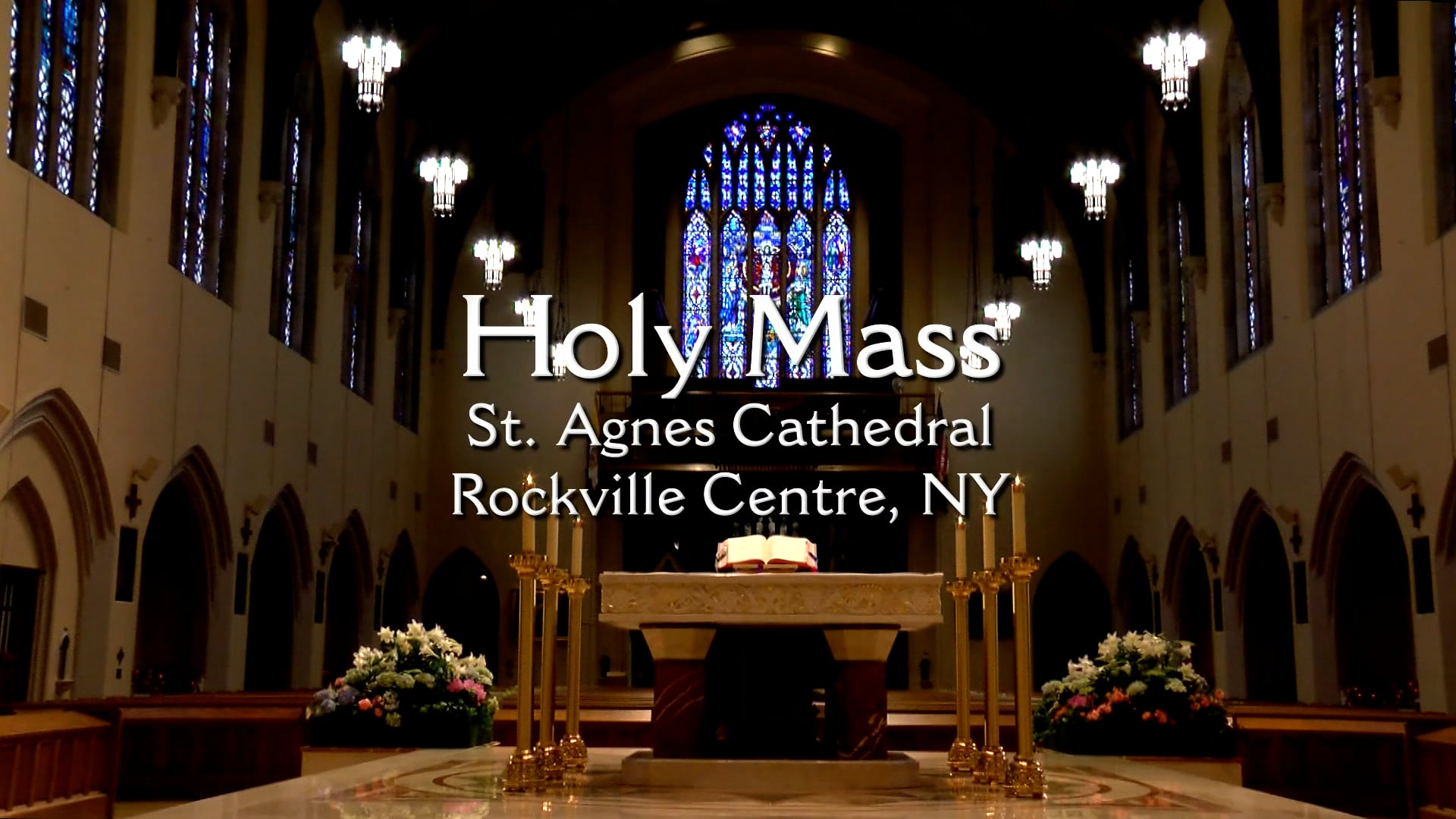 Mass from St. Agnes Cathedral - September 24, 2021
