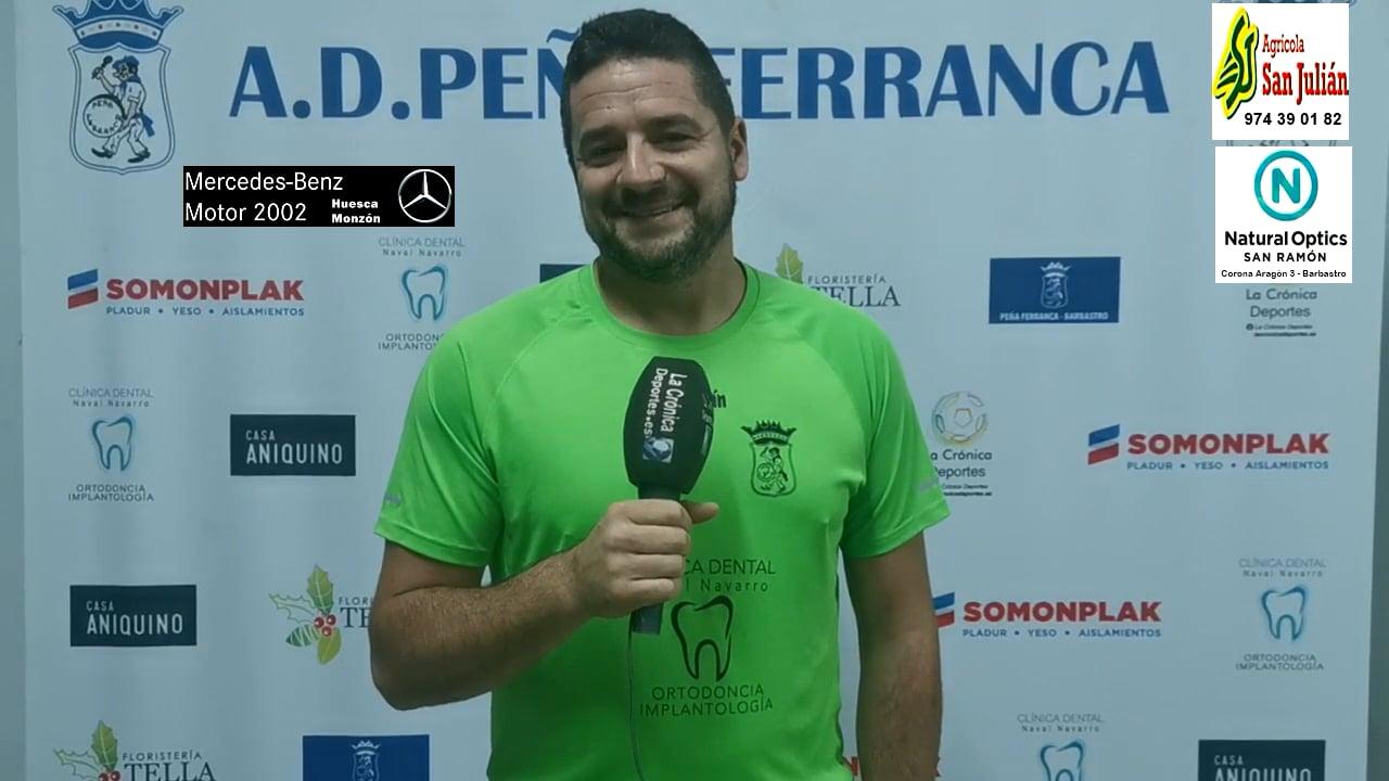 LA PREVIA / P. Ferranca Tella - Internacional Huesca / HÉCTOR CALLIZO (Jugador Ferranca) J 3 / Preferente - G 1